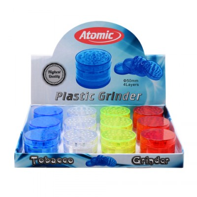 AT-Plastic Grinder ø50, 4parts