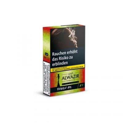 Alwazir 50g DOUBLE GREENRED N°