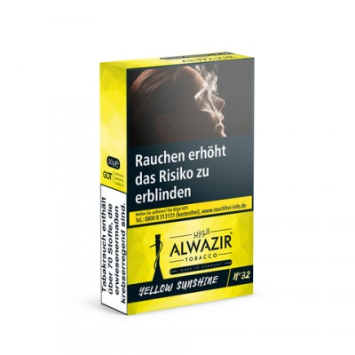 Alwazir 50g Yellow Sunshine N°
